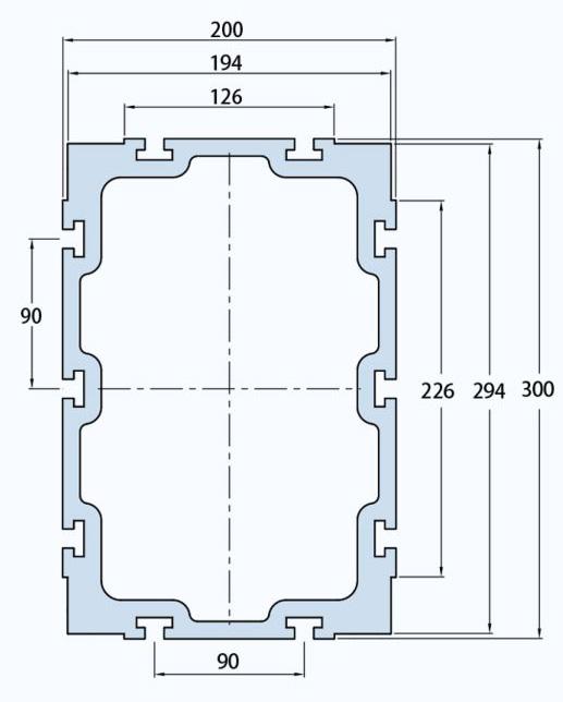 FHB300铝型材