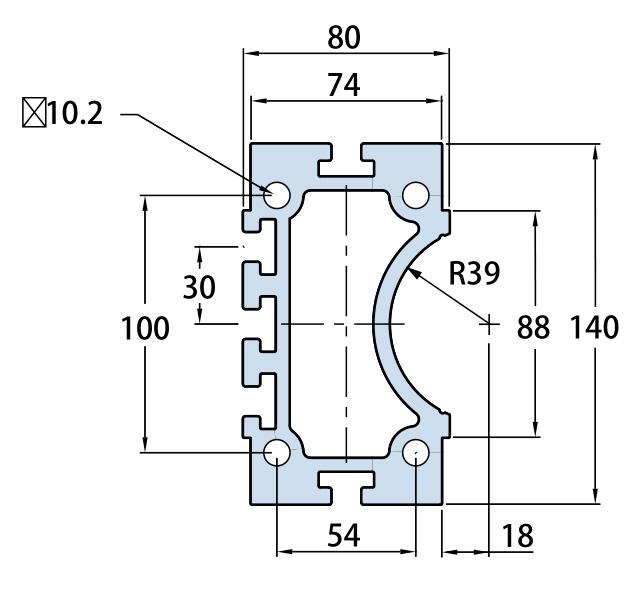 FHB140铝型材