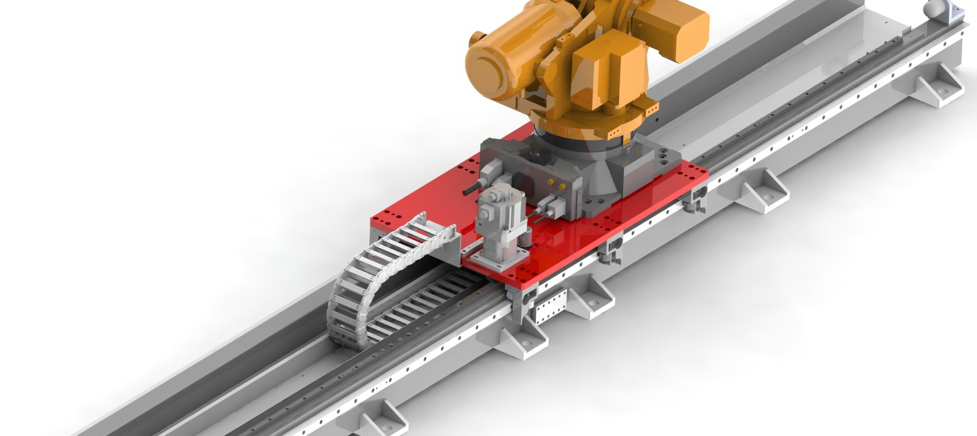 机器人行走轴控制系统
