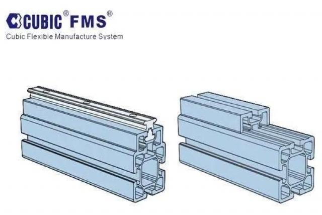 库比克桁架结构梁铝型材