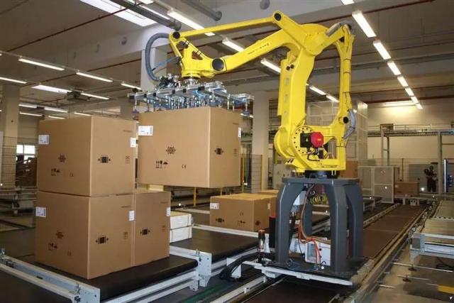 工业机器人码垛应用案例详解