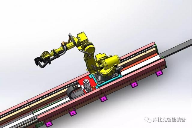 机器人外部轴主要应用在哪些行业?